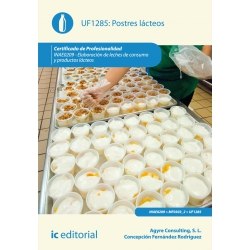 Postres lácteos. INAE0209