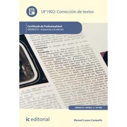 Corrección de textos UF1902