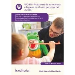 Programas de autonomía e higiene en el aseo personal del ACNEE UF2419