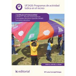 Programas de actividad lúdica en el recreo UF2420