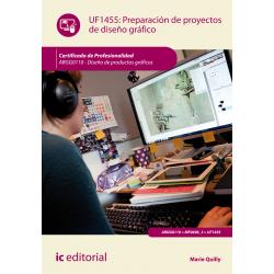 Preparación de proyectos de diseño gráfico UF1455