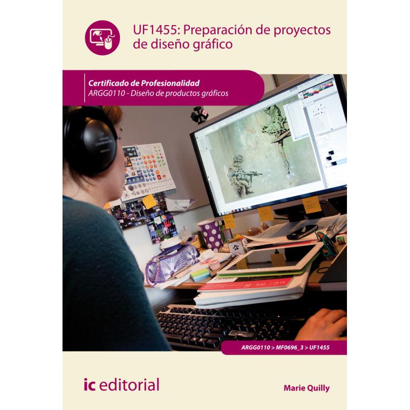 Libro de preparaci n de proyectos de dise o gr fico uf1455 for Libros de diseno grafico