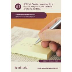 Análisis y control de la desviación presupuestaria del producto editorial UF0255