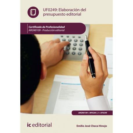 Elaboración del presupuesto editorial UF0249