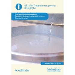 Tratamientos previos de la leche. INAE0209