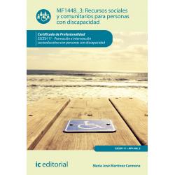 Recursos sociales y comunitarios para personas con discapacidad MF1448_3