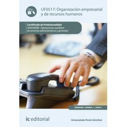 Organización empresarial y de recursos humanos. ADGG0408