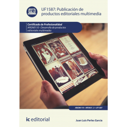 Publicación de productos editoriales multimedia UF1587