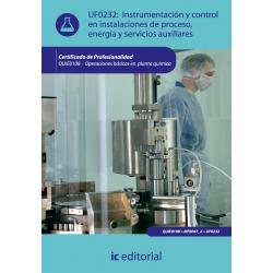 Instrumentación y control en instalaciones de proceso, energía y servicios auxiliares. QUIE0108