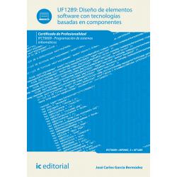 Diseño de elementos software con tecnologías basadas en componentes UF1289