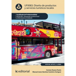 Diseño de Productos y servicios turísticos locales. HOTI0108