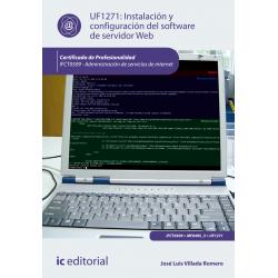 Instalación y configuración del software de servidor Web UF1271