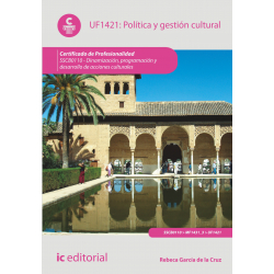 Política y gestión cultural UF1421