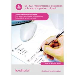 Programación y evaluación aplicadas a la gestión cultural UF1422