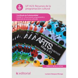 Recursos de la programación cultural UF1423