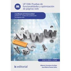 Pruebas de funcionalidades y optimización de páginas web. IFCD0110