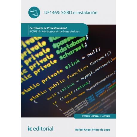 SGBD e instalación. IFCT0310