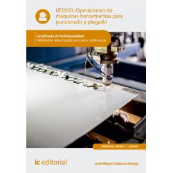 Operaciones de máquinas-herramientas para punzonado y plegado UF0591