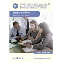 Análisis del entorno laboral y gestión de relaciones laborales desde la  perspectiva de género UF2686