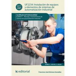 Instalación de equipos y elementos de sistemas de automatización industrial UF2234