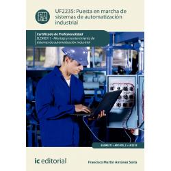 Puesta en marcha de sistemas de automatización industrial UF2235
