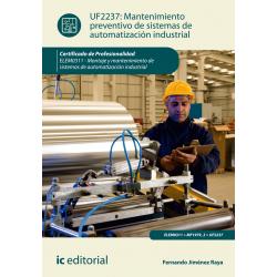 Mantenimiento preventivo de sistemas de automatización industrial UF2237