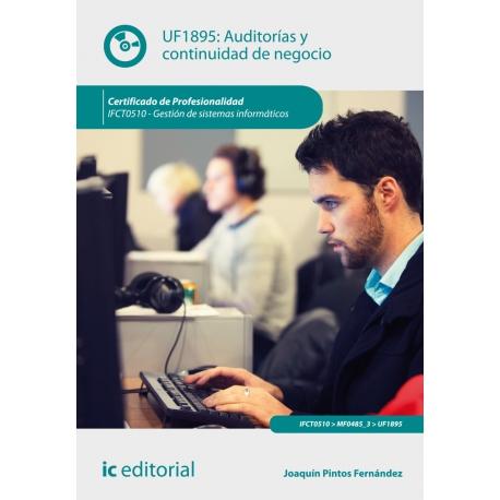 Auditorías y continuidad de negocio. IFCT0510