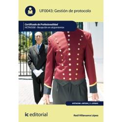 Gestión de Protocolo. HOTA0308