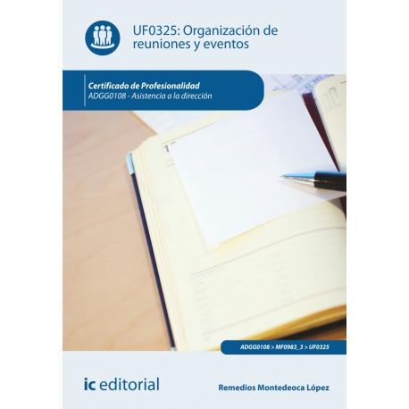 Organización de reuniones y eventos. ADGG0108