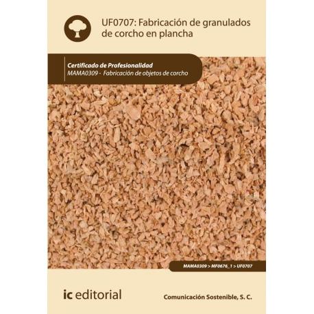 Libro de fabricaci n de granulados de corcho en plancha uf0707 - Planchas de corcho ...
