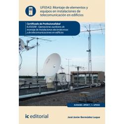 Montaje de elementos y equipos en instalaciones de telecomunicaciones en edificios. ELES0208