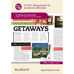 Maquetación de productos editoriales. ARGG0110