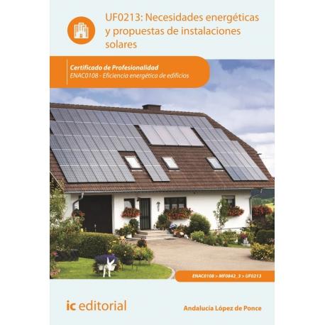 Necesidades energéticas y propuestas de instalaciones solares. ENAC0108