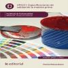 Especificaciones de calidad de la materia prima. ARGM0109