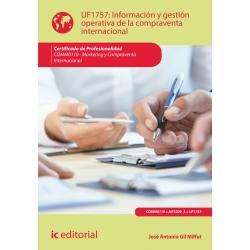 Información y gestión operativa de la compraventa internacional. COMM0110