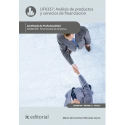 Análisis de productos y servicios de financiación  - UF0337