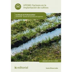 Factores en la implantación de cultivos - UF0382