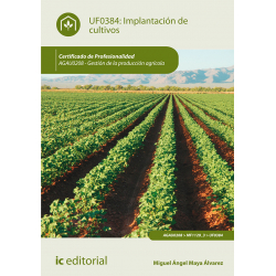 Implantación de cultivos - UF0384