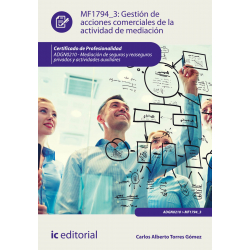 Gestión de acciones comerciales de la actividad de mediación - MF1794_3
