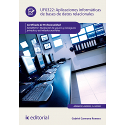 Aplicaciones informáticas de bases de datos relacionales - UF0322