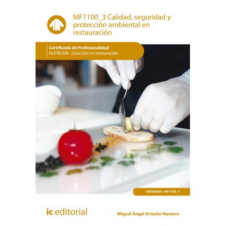 Calidad, seguridad y protección ambiental en restauración - MF1100_3