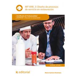 Diseño de procesos de servicio en restauración - MF1098_3
