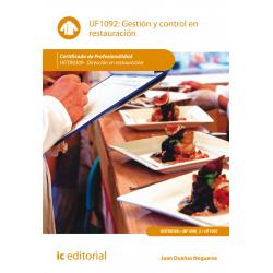 Gestión y control en restauración - UF1092
