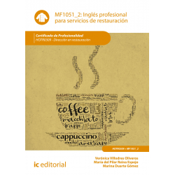 Inglés profesional para servicios de restauración - MF1051_2