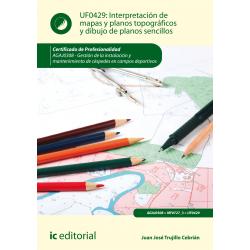 Interpretación de mapas y planos topográficos y dibujo de planos sencillos UF0429