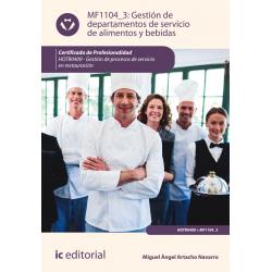 Gestión de departamentos de servicio de alimentos y bebidas MF1104_3