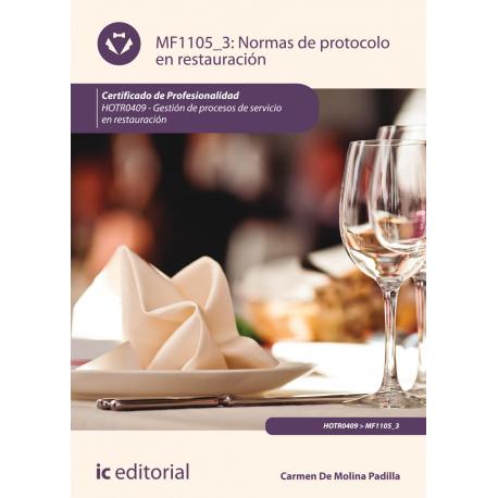 Normas de protocolo en restauración MF1105_3