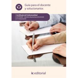 Guía para el docente y solucionarios. HOTR0409