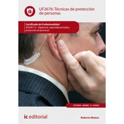 Técnicas de protección de personas UF2676