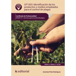 Identificación de los productos y medios empleados para el control de plagas UF1503